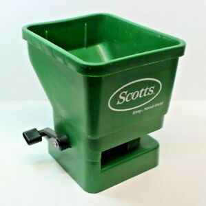 Scotts Easy Hand Held Broadcast Spreader 71030 Great Condition $11.95