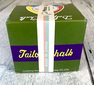 High Class Tailors Chalk 12 Triangle Chalks for Tailoring Sewing Quilting $6.99