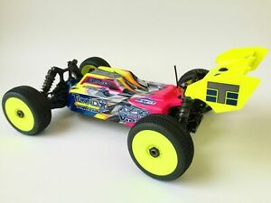 Leadfinger Assassin body clear for Tekno EB48 EB48.4 electric buggy LFRE3035 $33.99
