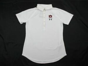 Auburn Tigers Under Armour Polo Womens White New without Tags $34.95