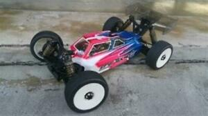 Leadfinger Racing A2 Tactic body clear Tekno EB48.4 LFRE3043 New $42.99