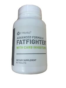 It Works Advanced Formula Fat Fighter with Carb Inhibitors 60 Tablets NEw $28.00
