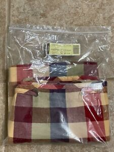 Longaberger Liner Large Storage Solutions Woven Traditions Plaid $15.00
