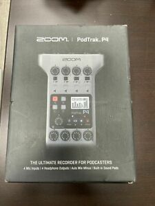 *Brand New * Zoom PodTrak P4 Podcast Recorder Free Shipping