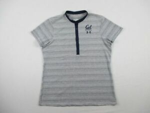 California Golden Bears Under Armour Polo Womens Blue White New without Tags $35.43