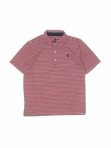 Assorted Brands Boys Pink Short Sleeve Polo 12 $14.99