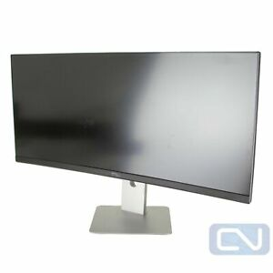 Dell U3415W 34 inch UltraSharp LED Wide Curved IPS Monitor 3440 x 1440 Scratches $274.95