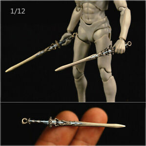 1 12 Weapon Sword Model Metal for 6quot; Phicen Hot Toys Action Figure Body Doll $10.99