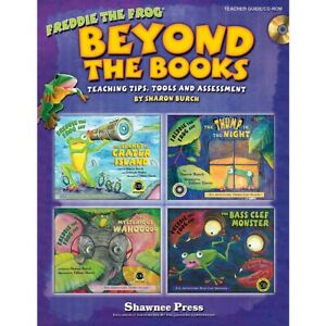 Beyond the Books: Teaching with Freddie the Frog Teacher CD ROM by Sharon Burch