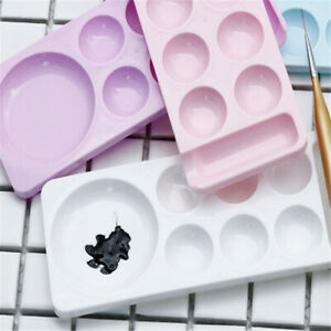 Palette Painting Plastic Palettes Paint Tray Non Stick Trays for Painting Supply