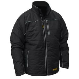Dewalt Dchj075D1 S Heated Jacket Black Quilted Kit Small $169.99