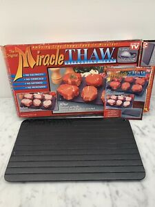 1995 The Original Miracle Thaw Defrosting Tray As Seen On TV