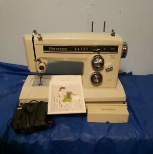 Kenmore Portable Sewing Machine Model 158. 16410 amp; Case $100.00