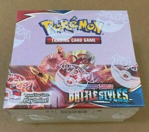 10 Battle Styles Booster Pack Lot From Factory Sealed Pokemon Booster Box $41.95