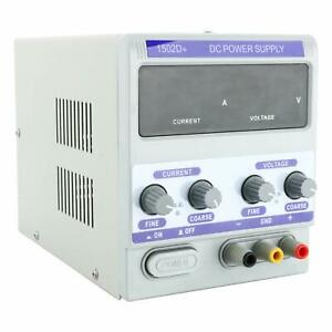 YaeCCC 15V 2A 1502D DC Lab Power Supply Adjustable Laboratory For Phone Repair $34.99