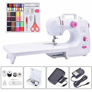 Asany Portable Sewing Machine Household Sewing Machines with Extension Table ... $73.61
