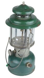 Vintage Coleman Camping Lantern with Glass Globe July 1951