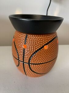 Scentsy Warmer Retired Discontinued Full Size New Full Court Basketball