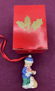 2004 Bing Grondahl Christmas Ornament Boy With Hare Excellent Condition $39.99