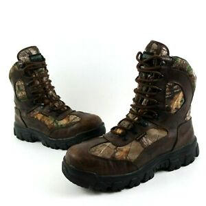 Wolverine Men#x27;s Hunting Boots Size 11.5 Buck Tracker Insulated Waterproof Camo