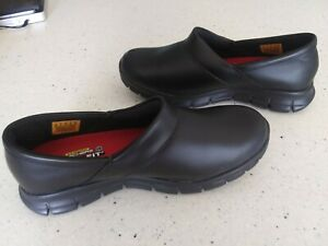 Skechers for Work Women#x27;s Relaxed Fit Slip Resistant Work Shoes Size 9 US