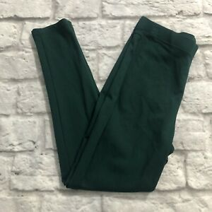 Women With Control Leggings Green Slimming Stretch Shaping Size Medium