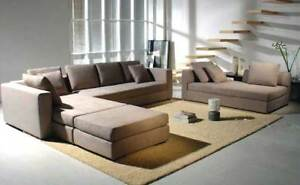 4PC MODERN EURO DESIGN SECTIONAL SOFA SET S2153
