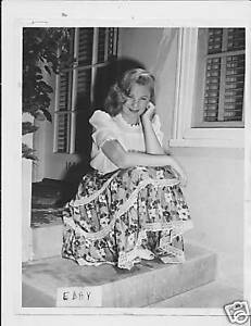June Allyson VINTAGE Photo candid at home