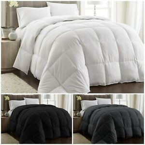 Chezmoi Collection Goose Down Alternative Comforter Duvet Cover Insert 3 Colors