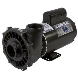 Waterway Executive 56-Frame 4HP Dual-Speed Spa Pump - 3721621-1D