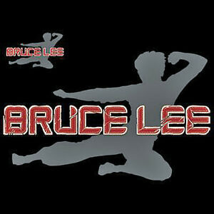 Bruce Lee Applique Tee Double Sided  Choose Style Size Color  Licensed  10384