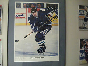 DAVE ANDREYCHUK  AUTOGRAPHED 1994 ALL STAR GAME COMMEMERATIVE LITHOGRAPH PRINT