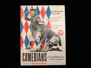 1958 The Sporting News Comedians of Baseball Down the Years VG EX $45.00