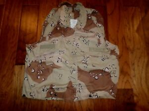 U.S MILITARY PROTECTIVE VEST COVER PERSONNEL ARMOR SYSTEM FOR GROUND TROOP PASGT