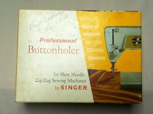 Professional Buttonholer by Singer for Slant Needle Zigzag Sewing Machines $20.00