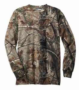 Russell Outdoors REALTREE All Purpose Camo LONG SLEEVE T shirt S 2XL 3XL HUNTING