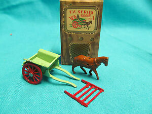 1950 s diecast tv series no 1 hay cart with