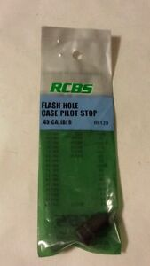 RCBS  Flash Hole Deburring Tool Case Pilot Stop for 45 cal #88139 NIP