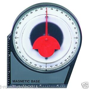 DIAL MAGNETIC BASE ANGLE FINDER PROTRACTOR GAUGE PROTRACTER FINDING DEGREE GAGE $8.95