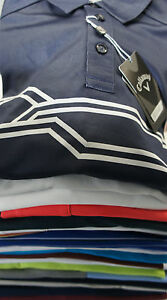 50% OFF BNWT CALLAWAY GOLF TOP MENs BOYs SLIM FIT POLO SHIRT SLIM or RELAXED FIT