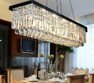 Luxury New Modern K9 Crystal Pendant Light Ceiling Lamp Chandelier Lighting $179.54