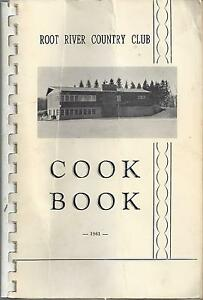 *BLOOMFIELD MN 1961 ANTIQUE *ROOT RIVER COUNTRY CLUB COOK BOOK *ETHNIC CHAPTER