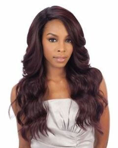 FREETRESS EQUAL DEEP INVISIBLE L PART SYNTHETIC LACE FRONT WIG DANITY $40.19