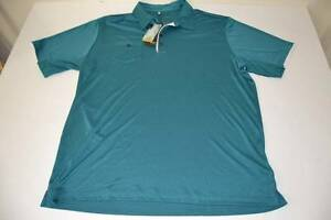 ADIDAS GOLF JADE GREEN DRY FIT POCKET POLO SHIRT MENS SIZE 2XL XXL NEW