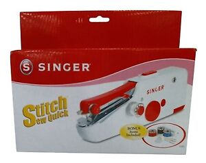 Singer Stitch Sew Quick Portable Compact Hand Held Sewing Machine $19.83
