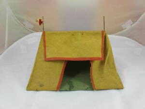 german toy red cross tent lineol c1930 s