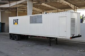 #10646 Caterpillar Sound Attenuated Custom 1500 Industrial Power Module