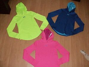 Under Armour Girls' Cold Gear Pullover Hoodie Many Colors&Sizes MSRP $44.99