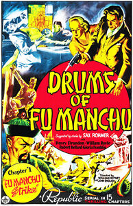 Drums of Fu Manchu 1940 Movie Poster