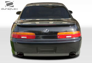 Duraflex SC300 SC400 O-Design Rear Bumper Cover 1 Piece for SC Series Lexus